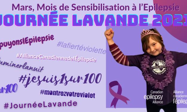 Mars est le mois de la sensibilisation à l'épilepsie au Canada. Voici quelques idées pour célébrer et sensibiliser à l'épilepsie.