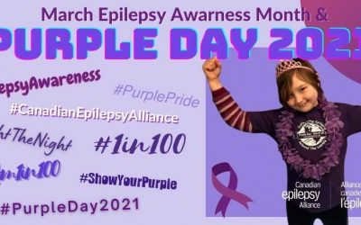 March Epilepsy Awareness Month – 2021 Campaign